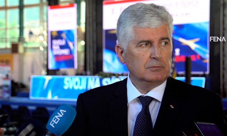 Čović: We will not allow discrimination against the Croat people in BiH