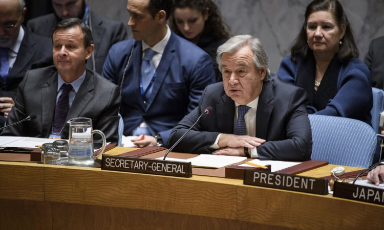 Guterres: Refrain from denying the seriousness of the crimes that have been adjudicated