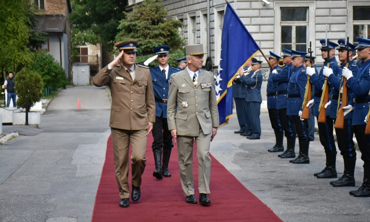 Mašović and Lecointre discuss security challenges for EU and NATO-led missions