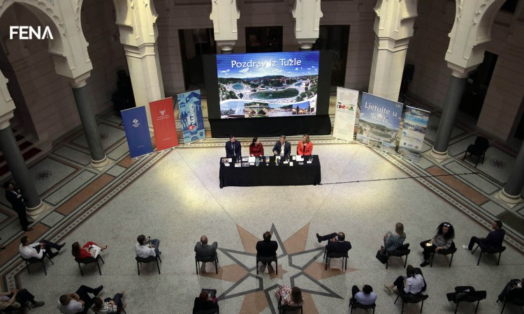 Tourist potentials of Tuzla presented at Sarajevo City Hall