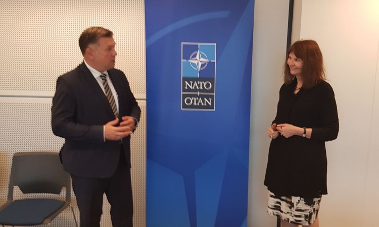 NATO representatives stress importance of cooperation with BiH institutions