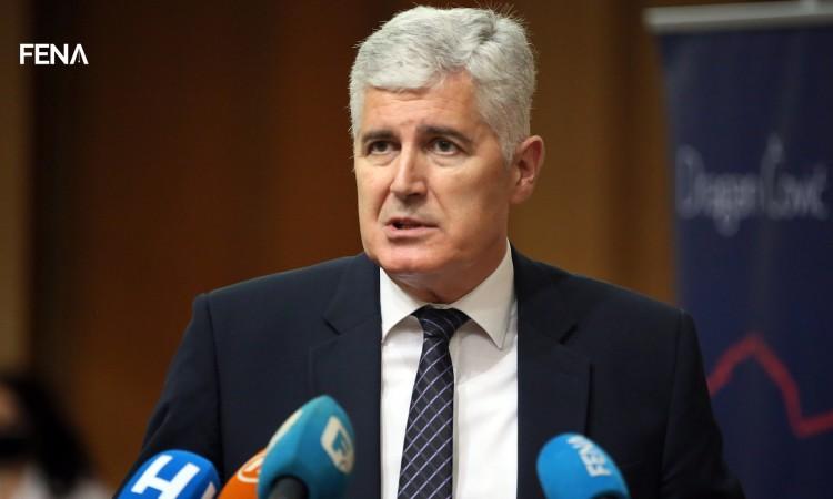 Čović: The Resolution very clearly states 'Dayton BiH'
