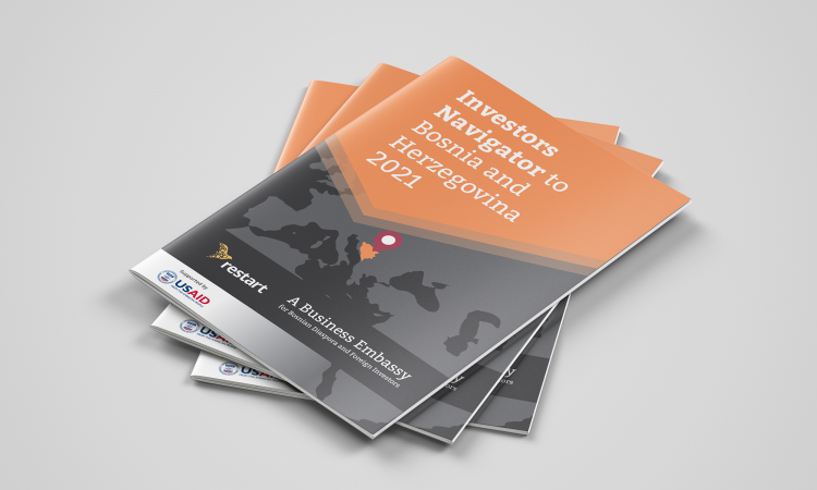 Restart presents investors navigator to BiH