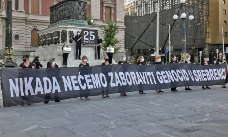 'Women in Black' from Belgrade – We will never forget the genocide in Srebrenica