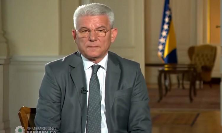 Džaferović: Mass killings in July were the end of three-year genocidal process