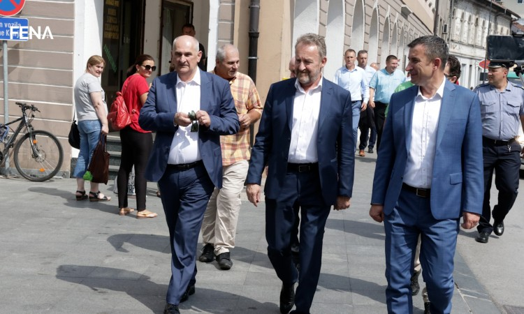 Izetbegović: Konjic is municipality with a large number of employees