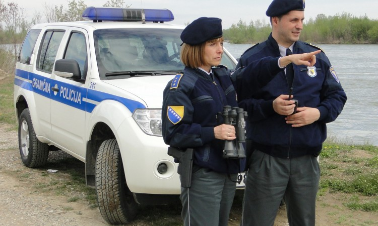 More than 3,600 people prevented from crossing the BiH border illegally in 2021