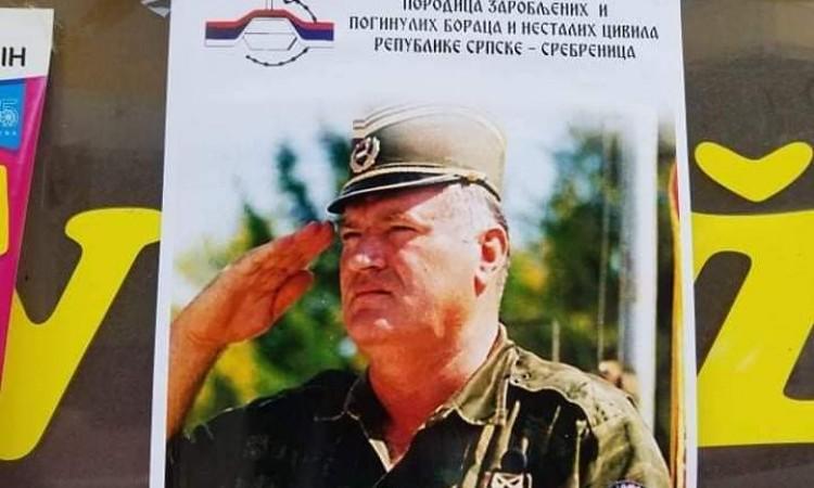 Tabaković and Duraković: Posters with image of Mladić uncivilized and shameful
