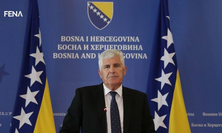 Čović: Discussions we are having put BiH's Euro-Atlantic path aside