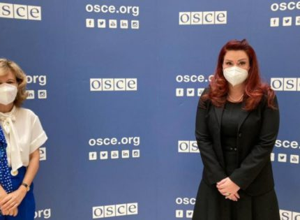 Ribeiro-Krasniqi: We continue constructive cooperation between OSCE and AMA
