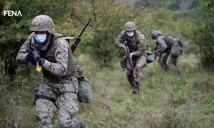 Podžić announces evaluation exercise of the Battalion Group of AFBiH