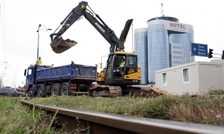Reconstruction of Sarajevo's tramway tracks officially begins this morning