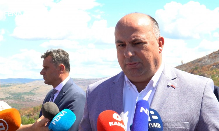 The Stolac – Neum road section will be opened in the spring of 2022