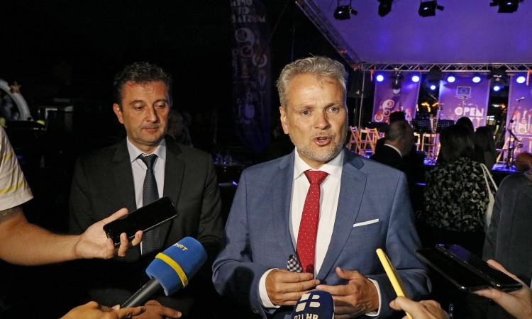 Sattler and Kordić open the 'Open City Mostar' festival