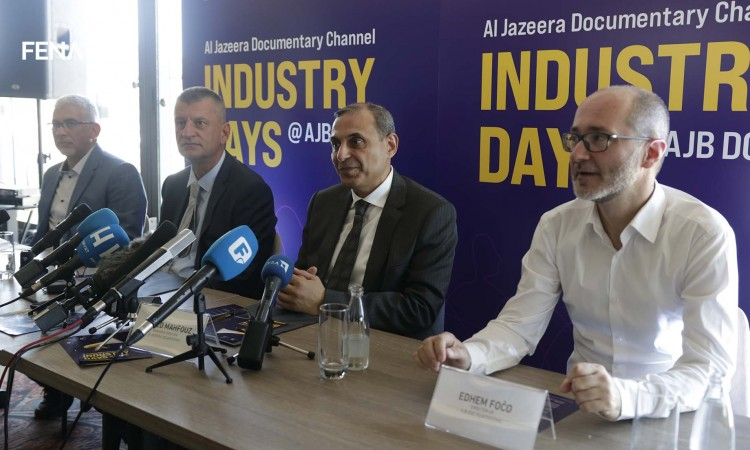 Al Jazeera officials announce the launch of the AJD Industry Days project