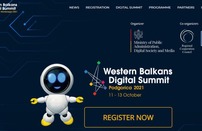 Western Balkans Digital Summit opens in Podgorica on Monday