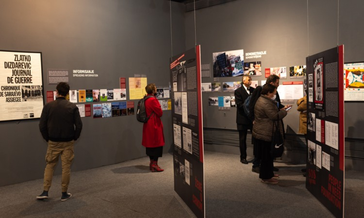 Exhibition 'Wake up Europe!' opens at the History Museum of BiH