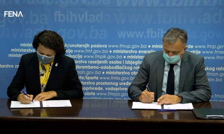 FBiH and UNDP sign agreement to support digital transformation of SMEs