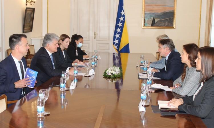 Miroslav Jenča ends his official visit to Bosnia and Herzegovina