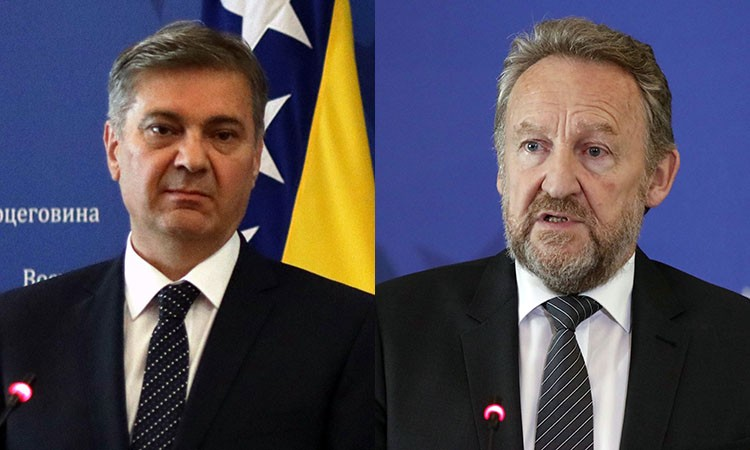 Zvizdić and Izetbegović wrote to the leaders of EU, Council of Europe and the US